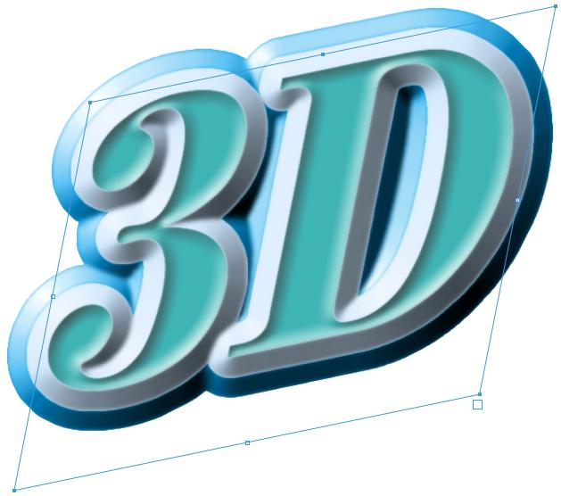 3D_text 立体文字